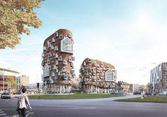 'The Sketch' wordt ontwerp gebouw Marconiplein - architectenweb.nl