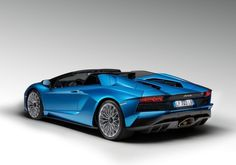 The Lamborghini Aventador S Roadster is presented by Automobili Lamborghini at the 2017 IAA in Frankfurt, combining the technologies and driving dynamics of the Aventador S with an emotive open air driving experience. The Lamborghini Aventador S Roadster is the only mid-rear engine V12 super sports roadster. Alongside class-leading performance figures, the roadster's unique status is enhanced by multiple color and trim options, including new materials and extensive use of carbon fiber.