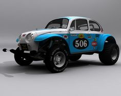 Baja Bug 1979 (No.506 Scale Model)