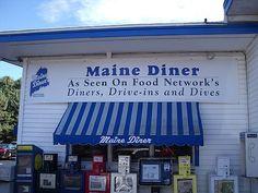 Our favorite Diner - Lobster pie!!! Maine Diner - Wells, Maine - Excellent Lobster Rolls