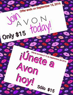 Join Avon now while it's only $15. You can join online @ http://ftrammell.avonrepresentative.com/opportunity #avon #opportunity #business