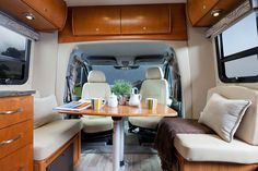 View photos of the Unity Class C RV by Leisure Travel Vans. See photos, videos, floorplans and more of the luxurious Unity, built on the Mercedes Sprinter Cab Chassis. Leisure Travel Vans, Rv Travel, Travel Trailers, Mercedes Van, Luxury Van, Used Rvs For Sale, Class B Rv, Bathroom Layout, Murphy Bed
