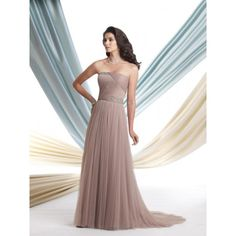 mother of the bride tulle shawl long dress - Google Search