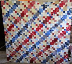 My Patchwork Quilt: OUR QUILT OF VALOUR (PART EIGHT)