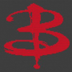 The Buffy B Cross Stitch Pattern Buffy The by theworldinstitches Embroidery Patterns, Cross Stitch Patterns, Cross Stitch Boards, Geek Crafts, Buffy The Vampire Slayer, Perler Beads, Cross Stitching, Needlepoint, Geek Stuff