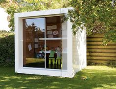 I see that this is clearly intended to be a playhouse for children, but I want it to be my real house.