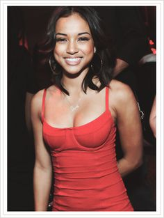 Karrueche Tran in red