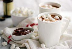 Nutella Hot Chocolate #hotchocolate