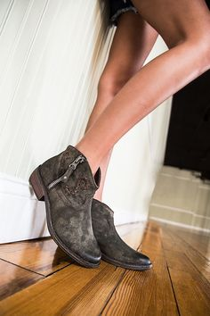 9e917ddef00 For those shoes with a little cowgirl flair try OTBT s Trek ankle boots.  Pair them