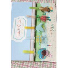 Green Forrest Bookmarks (set 4)