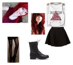 """""""Girls night out with Alex Dorame"""" by emo-killer-of-hyrule ❤ liked on Polyvore featuring Neil Barrett"""