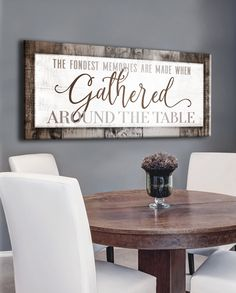 46 Best dining room wall art images   Dining room wall art ...