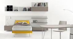 Designový studentský pokoj | Luxusní dětský nábytek ZALF Luxusní dětský nábytek ZALF http://JESPEN.cz
