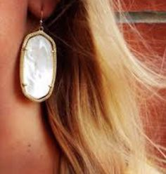 Kendra Scott sparkly earrings