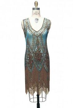$399- The Charleston Turquoise Gold