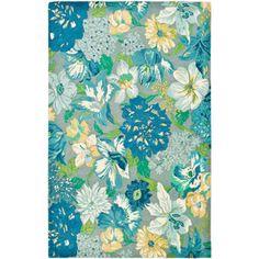 Safavieh Soho Myrtle Wool Rug, Blue/Multi-Color $280 -- guest bedroom?