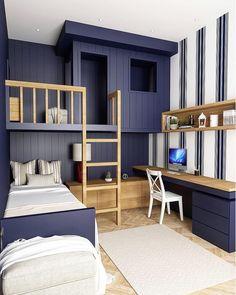Interior Design | Kids Decor (@decor_for_kids) posted on Instagram • Jan 19, 2021 at 3:11am UTC Kids Boy, Cubby Houses, Kids Decor, Home Decor, Cubbies, Boy Room, Bunk Beds, Kids Fashion, Interior Design