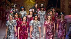 Dolce and Gabbana's Fall Show Was a Full-On Fashion Fairy Tale