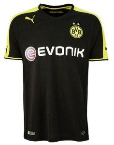 Borussia Dortmund 2013 14 Away Camiseta fútbol  034  - €16.87   Camisetas a8c92198b9c