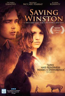 Saving Winston (2011) When a troubled teen is forced to leave a self-destructive lifestyle, she discovers an abandoned horse along her journey to redemption. Will temptation from the dark shadows of her past lead her astray or will her newfound love of God and a rescue horse help her find salvation? Victoria Emmons, Meghan McCabe-Habrat, Austin Kearney...TS Christian