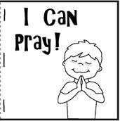 I can Pray Printable Book - directions on www.daniellesplace.com