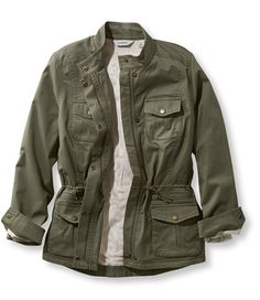 Lined Freeport Field Jacket | I had a cool military jacket like this back in college - kinda wishing I had the fleece lined one for the coming fall!