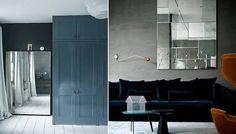 Una habitación limitada de luz natural requiere espejos directamente frente de las ventanas sumarán luz instantánea