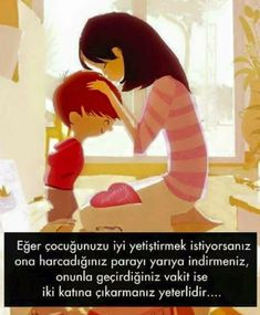 Cocuk eğitimi Mom And Baby, Baby Love, Best Love Messages, Montessori, Good Parenting, Meaningful Words, Physiology, Kids Education, Childcare