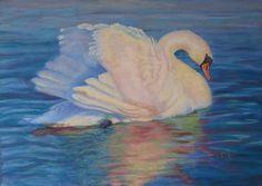 Love doing Swans!