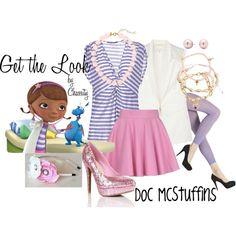 Disney's Doc McStuffins inspired look.