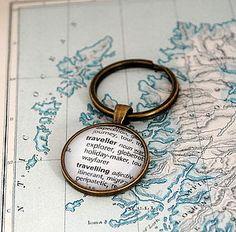 Globe Trotter Traveller Keyring