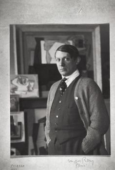 Pablo Picasso by Man Ray