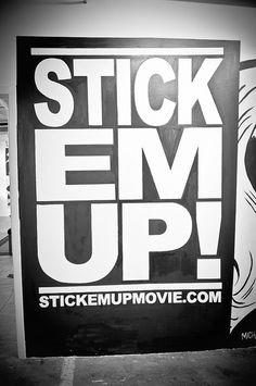 STICKEMUP!    Houston Street Art   2012 : http://www.flickr.com/photos/iseenit/6797462494/in/set-72157604184553355