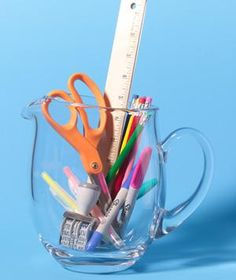 Real Simple: New uses for old things Real Simple, Desk Supplies, Office Supplies, Craft Supplies, Office Supply Organization, Making Life Easier, New Uses, Staying Organized, Organized Office