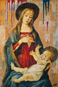 Reclaimed Madonna   Online Art Auction from Galleries   ARTBIDS CLUB