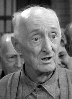 """Burt Mustin.  Born in Pittsburgh, Pennsylvania, he was best known as a regular on """"Leave It To Beaver"""" TV series 1957 to 1962, in the role as Gus the fireman."""