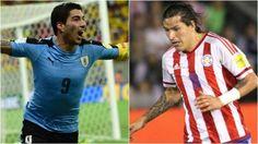 Uruguay vs Paraguay en el Centenario por las Eliminatorias.