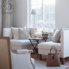 Underbart vardagsrum med möbler från Zandvoort