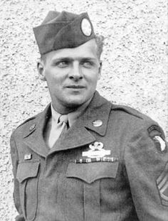 The real life Donald Malarkey. He was portrayed by Scott Grimes in Band of Brothers.