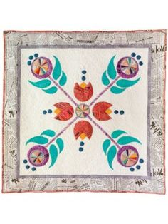 Modern Folklore Appliqué Quilt Kit | InterweaveStore.com