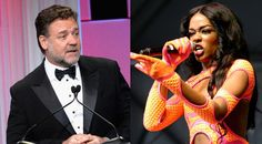 Azealia Banks: Russell Crowe Called Me N-Word, Choked And Spat On Me #Entertainment #News