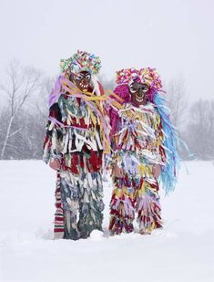 Charles Freger. Wilder Mann Series. Actual pagan costumes and rituals from Europe.