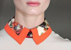Preen . Fall 2012 pop ur collars with contrasting colours- thats what's in for the fall season.. what do u think of this new fashion?