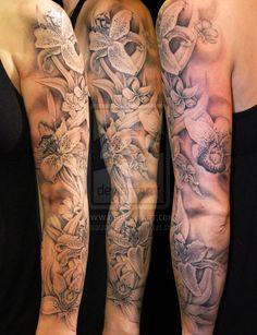 sleeve tattoo - layers