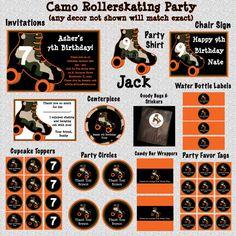 parti invit, roller skate, roller skating party boy, skate parti, brock parti, parti idea