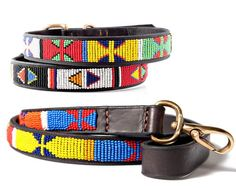 Kenyan Collection - Primary Collar & Leash Collection available at www.ZoePetSupply.com