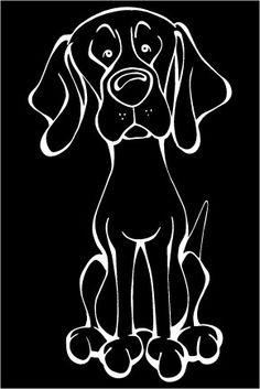 Viszla Decal Dog