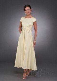 most practical and flattering dress for me. As mother of bride or 2nd wedding dress