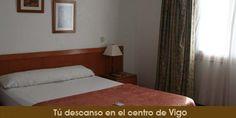 Situado en el centro de #Vigo al lado de El Corte Inglés, en plena zona comercial y a cinco minutos del Casco Vello
