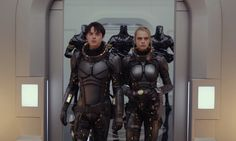 Valerian and the City Of a Thousand Planets (Luc Beeson Cara Delevingne, Dane DeHaan. Dane Dehaan, Cara Delevingne, Rihanna, Film 2017, Luc Besson, Cinema, Now And Then Movie, Design Girl, Sci Fi Movies